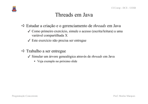 Threads em Java - Prof. Marlos Marques
