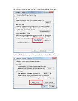Como configurar o Java, incluir site na lista de Sites
