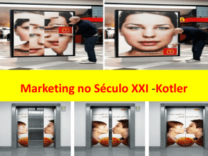 Marketing no Século XXI -Kotler - social