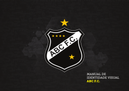 MANUAL DE IDENTIDADE VISUAL ABC F.C.