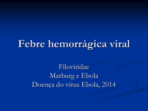 Ebola virus disease - Página Virologia Animal