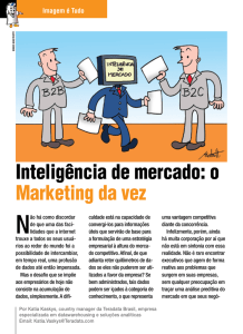 Inteligência de mercado: o Marketing da vez