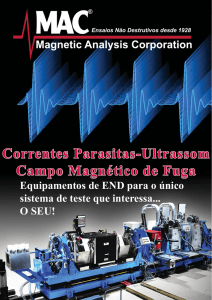 sistemas de ensaio - Magnetic Analysis Corporation