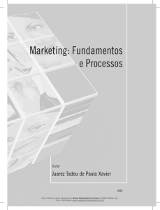 Marketing: Fundamentos e Processos