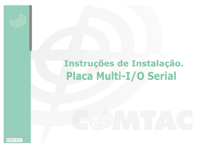 Manual - Placa Multi IO Serial