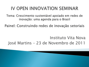instituto vita nova - Open Innovation Week