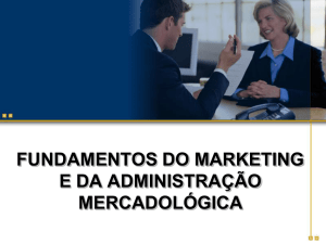 fundamentos do marketing e da administração mercadológica