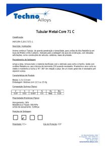Tubular Metal-Core 71 C