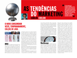 As tendências do marketing