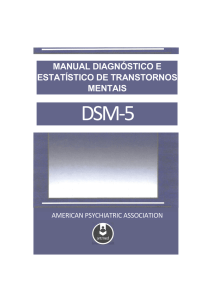 Manual diagnóstico e estatístico de transtornos mentais
