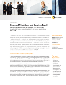 Siemens IT Solutions and Services Brasil