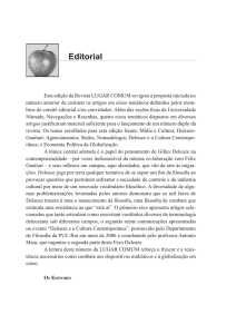 Editorial - Universidade Nômade