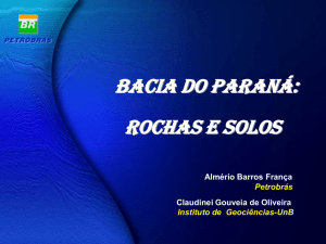 Bacia do Paraná - RedeAPLmineral