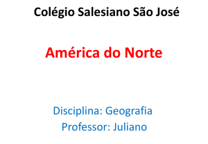 Geografia - 8º ano - América do Norte