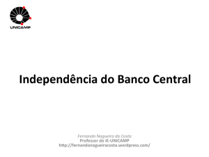 Independência do Banco Central