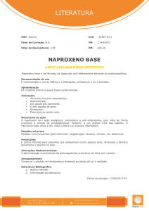 Naproxeno base - Pharma Nostra