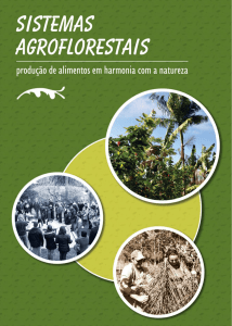 Cartilha Sistemas Agroflorestais