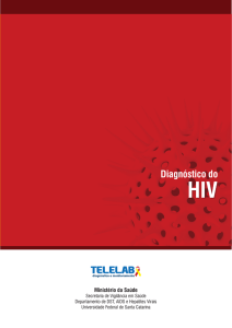 Diagnóstico do HIV - Telelab