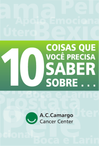 Cartilha 10 Coisas.cdr - A.C.Camargo Cancer Center