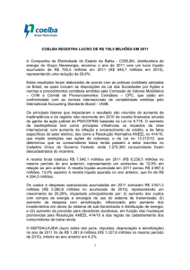 Press_Release_2011 Coelba