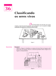 36. Classificando os seres vivos