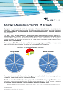 Employee Awareness Program