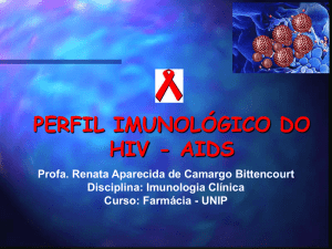 PERFIL IMUNOLÓGICO DO HIV