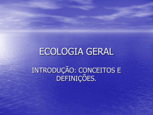 ecologia geral
