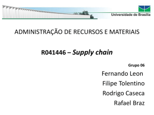 R041446 – Supply chain Grupo 06