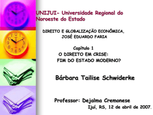 UNIJUI- Universidade Regional do Noroeste do
