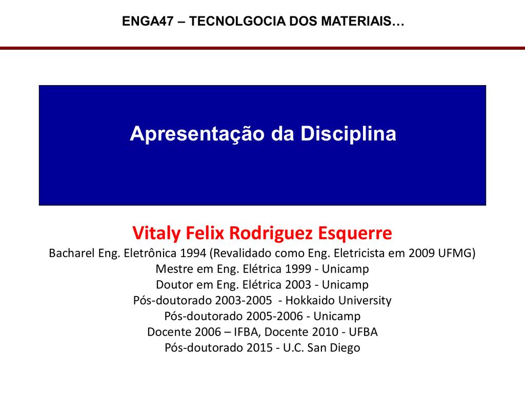 Slide 1 Dee Ufba