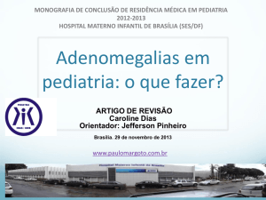 Adenomegalias - Paulo Margotto