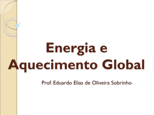 Energia e Aquecimento Global
