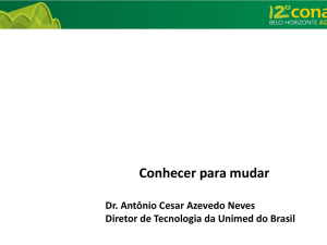 Slide 1 - Unimed do Brasil