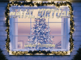 Natal virtual - Letícia Thompson