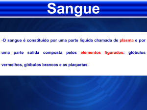 Sangue - Educacional