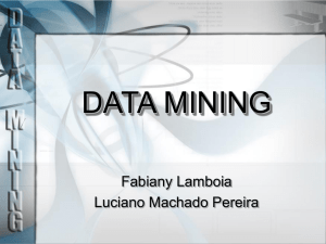 data mining - inf.unioeste.br