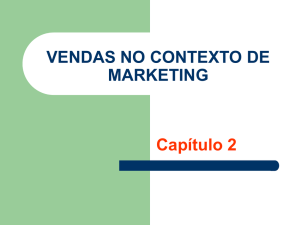 Aula 03 - Vendas no Contexto de Marketing