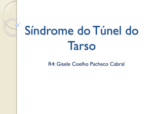 Sindrome do Túnel do Tarso