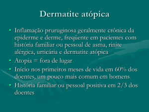 Dermatite atópica do adulto