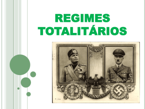 regimes totalitarios - Instituto Montessori
