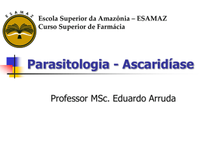 Ascaridiase-2014 - Blog do Eduardo Arruda