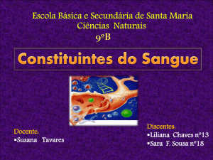 Constituintes do Sangue - Lili e Sara Filipa