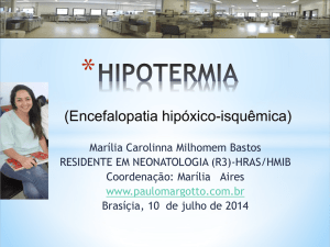 hipotermia - Paulo Margotto