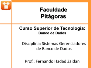 Slide 1 - Site do Professor Nivaldo Silva