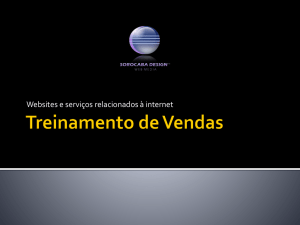 Treinamento de Vendas - W.RoBless International