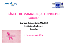 Breast cancer Oct 2014