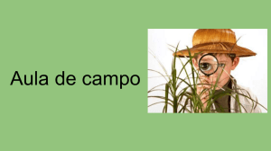 Aula de campo - WordPress.com