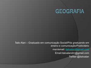 Geografia - WordPress.com