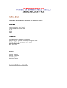 coffee_break - juliana santos eventos